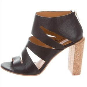 See by Chloe leather cage sandals
